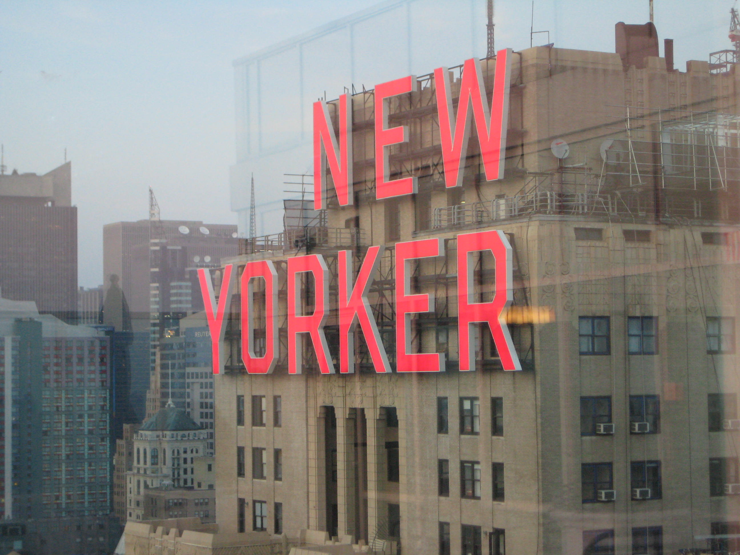 Out by Ten is as central a part of the New York performance scene as this New Yorker sign.