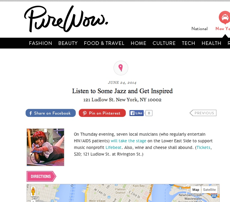 Out by Ten gets a shout out from Pure Wow for our June show.