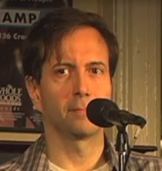 Steve Zimmer , Moth GRAND SLAM Champion, tells his sardonic tales at Out by Ten.