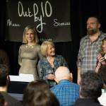 Atout by 10, Great group Sept 2017 show, Ophira Eisenberg, Gator Almonte, Gail Thomas, KJ Denhert, Susan Seliger