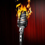 You're on fire at the Open Mic at Out by Ten.