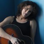 Trna Hamling blue with guitar