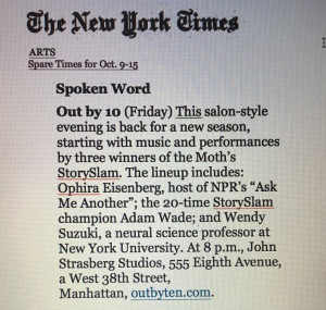 NYTime Press Oct. 2015