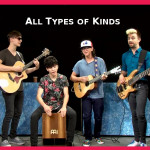 AT Out by 1- All Types of Kinds Band plays rockin' music
