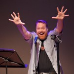 At Out by 10, Kevin Allison, Host of Risk, tells funny stories