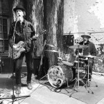 At Out by 10 Walter Parks and Jagoda, Swamp Cabbage Band, play rockin' music. . Photo by j waits